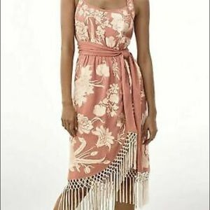 Anthropologie Lucille Dress Embroidery & Tassels